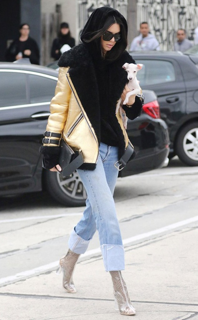 Kendall Jenner S Winter Coat Style Can Be Yours For Less