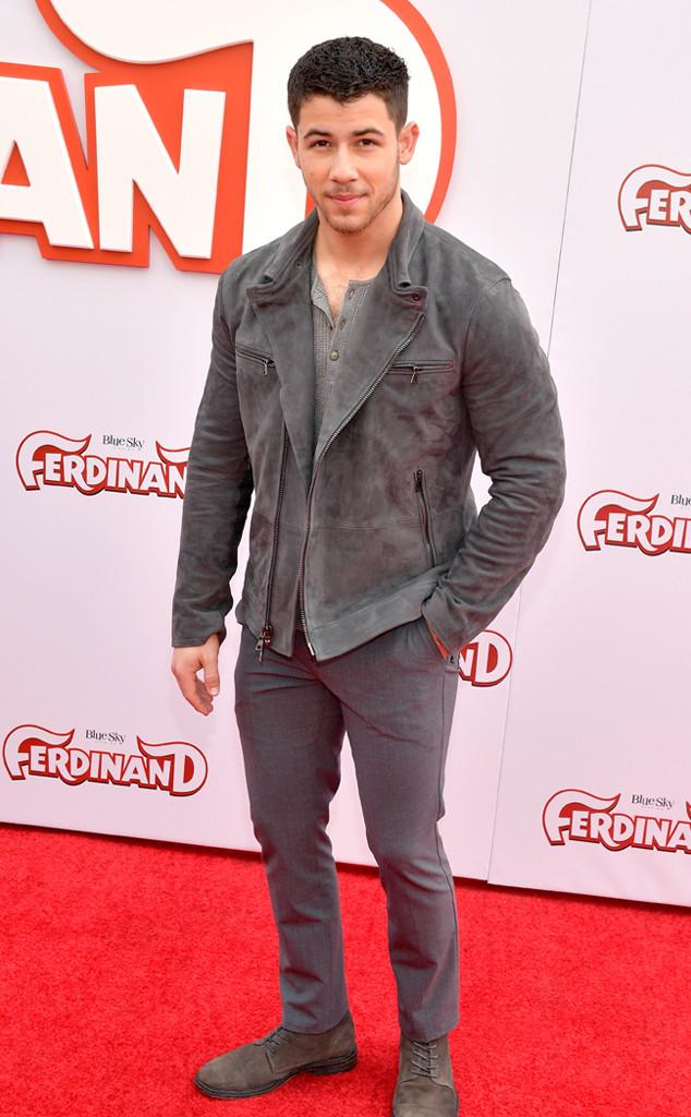 Nick Jonas, Ferdinand Premiere