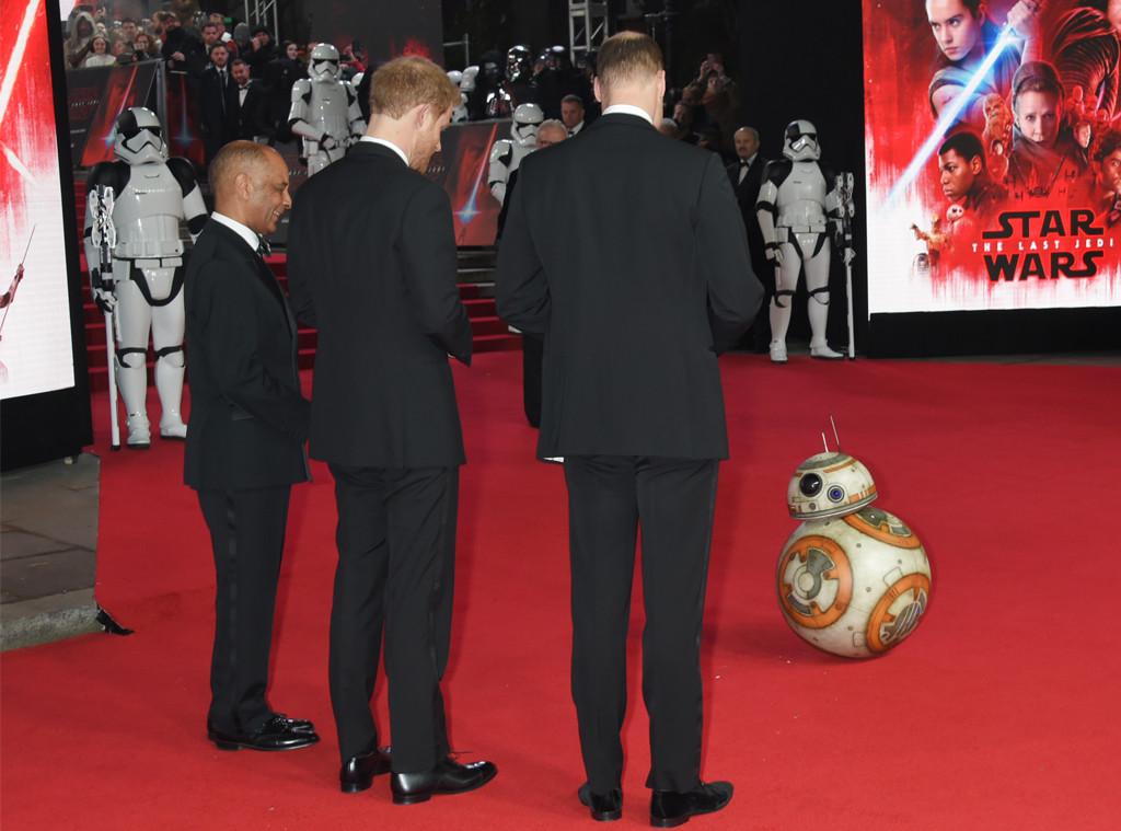 Prince William, Prince Harry, BB-8
