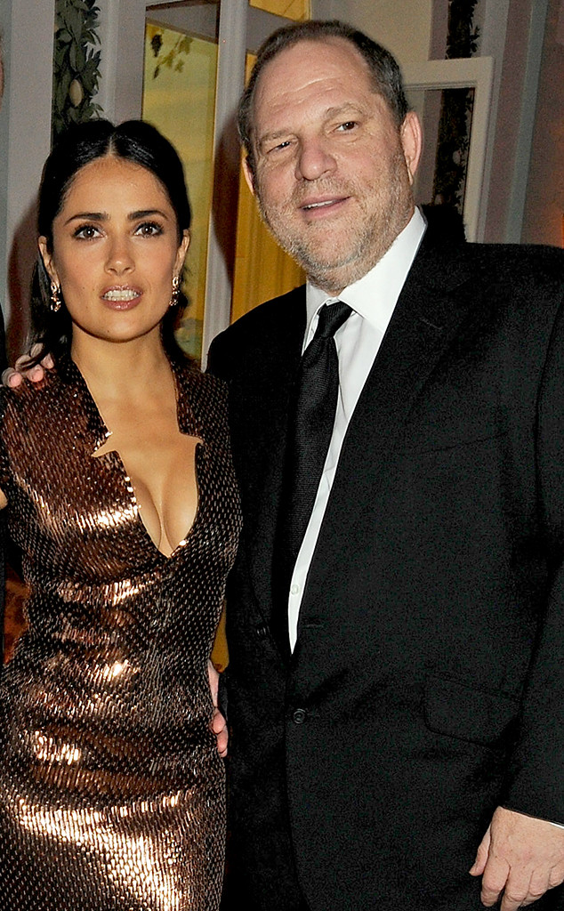 Salma Hayek, Harvey Weinstein