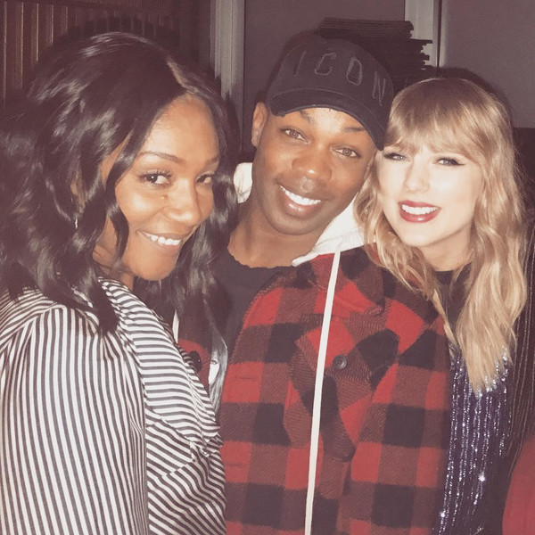 Tiffany Haddish, Todrick Hall, Taylor Swift