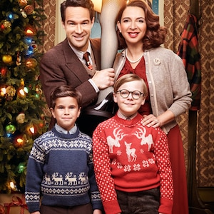 A Christmas Story Live!, Maya Rudolph, Chris Diamantopoulos