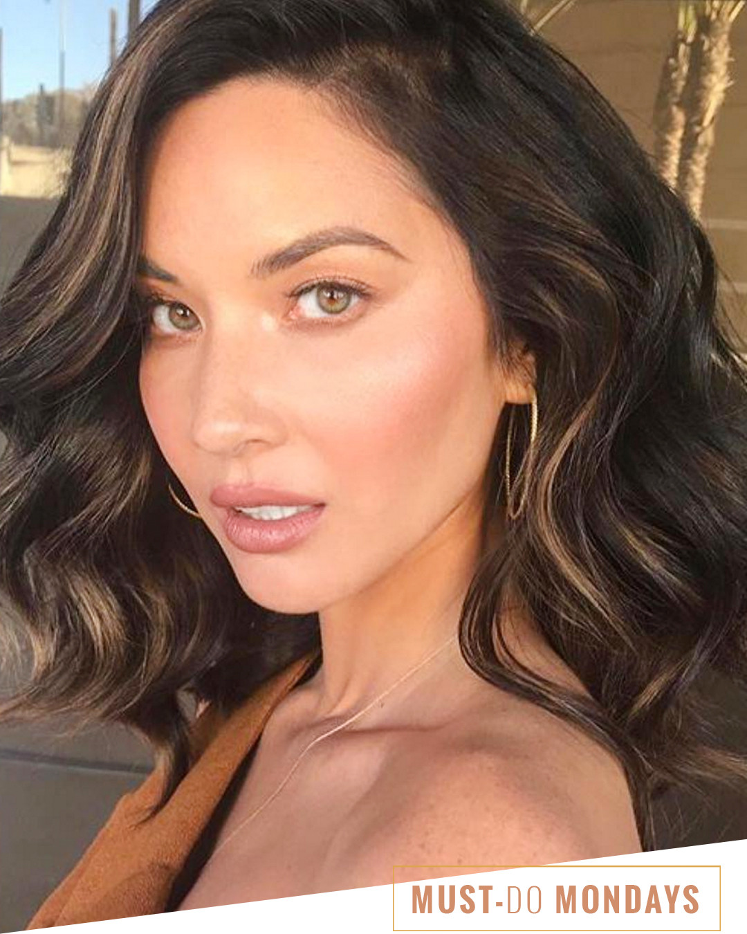 Olivia Munn's Colorist Recommends This $6 Hair Mask | E! News Olivia