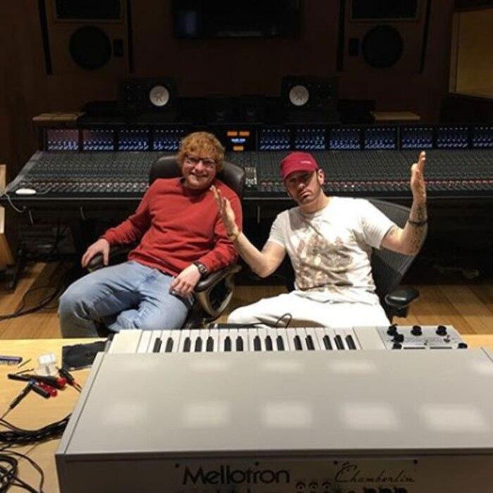 Hasil gambar untuk eminem and Ed Sheeran Collaboration