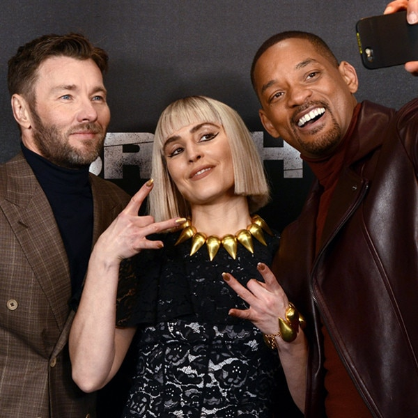 Joel Edgerton, Noomi Rapace, Will Smith, Bright