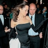 Angelina Jolie Showcases Glamorous Look on Night Out With Kids