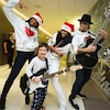 Ciara and Kelly Rowland Sing Christmas Carols to Kids at Children's Hospital