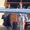 Justin Bieber, Selena Gomez, Van Nuys airport