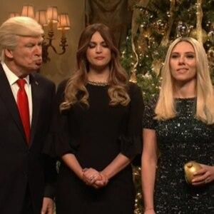 Scarlett Johansson, Alec Baldwin, SNL