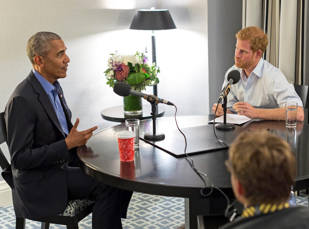 Prince Harry Jokes Around with Former President Barack Obama in Fun Interview