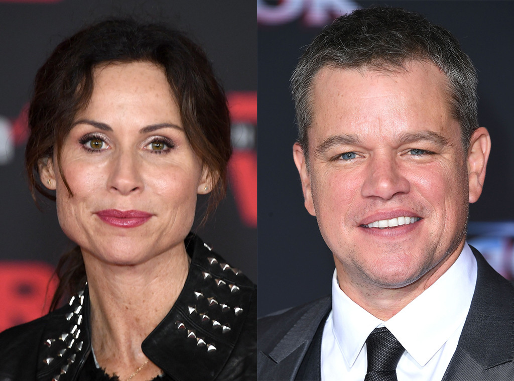 "Minnie Driver Makes A Dig At ""Nice, White Male"" Matt Damon For Sexual Harassment Comments"