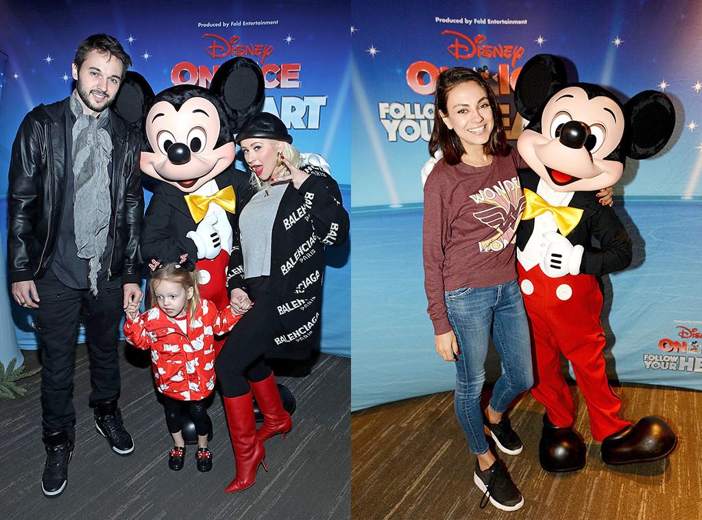 Christina Aguilera, Mila Kunis