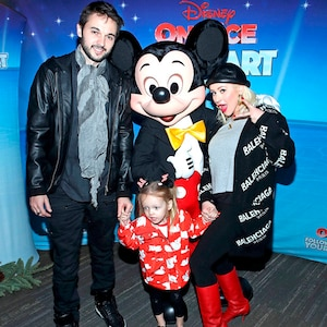 Christina Aguilera, Matthew Rutler, Summer Rutler, Disney on Ice