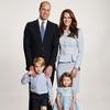 Prince William, Kate Middleton, Prince George, Princess Charlotte, Royal Christmas Card 2017