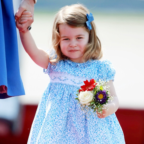 Kensington Palace shares photos of Princess Charlotte as she starts nursery school