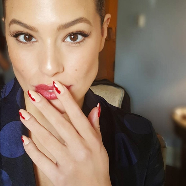 E!ssentials: How to Achieve Ashley Graham's Holiday Nails