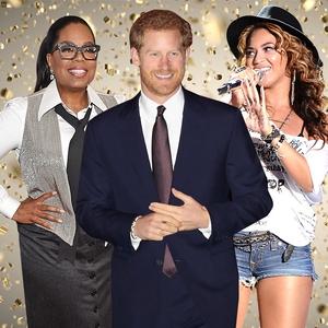 2018, Pop Culture Events, Oprah, Prince Harry, Beyonce