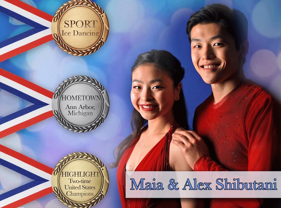 PyeongChang 2018 Olympic Athletes, Maia & Alex Shibutani