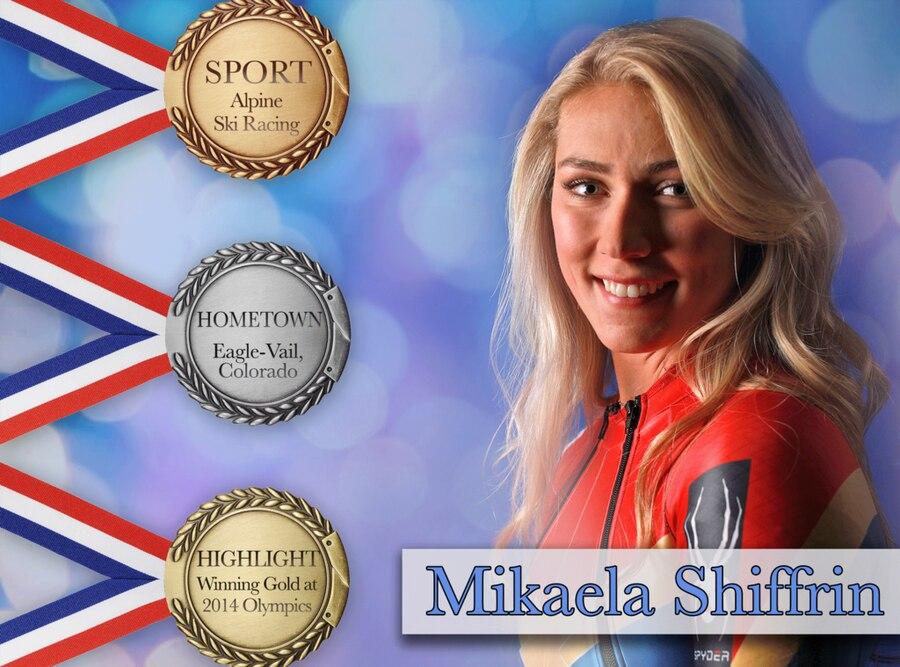 PyeongChang 2018 Olympic Athletes, Mikaela Shiffrin