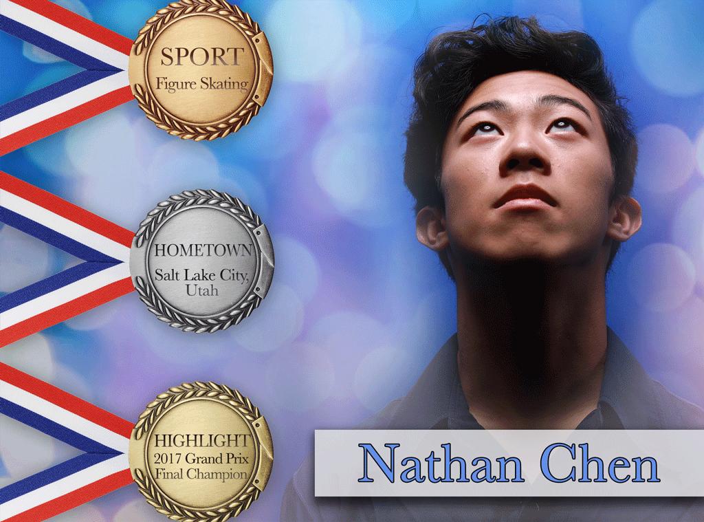 PyeongChang 2018 Olympic Athletes, Nathan Chen