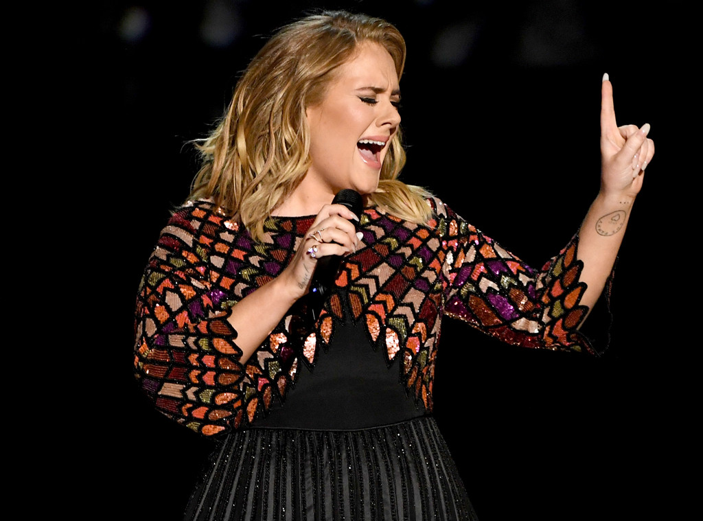 Adele, 2017 Grammys, Show, Performance