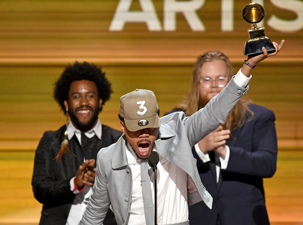 Chance the Rapper, 2017 Grammys, Winners