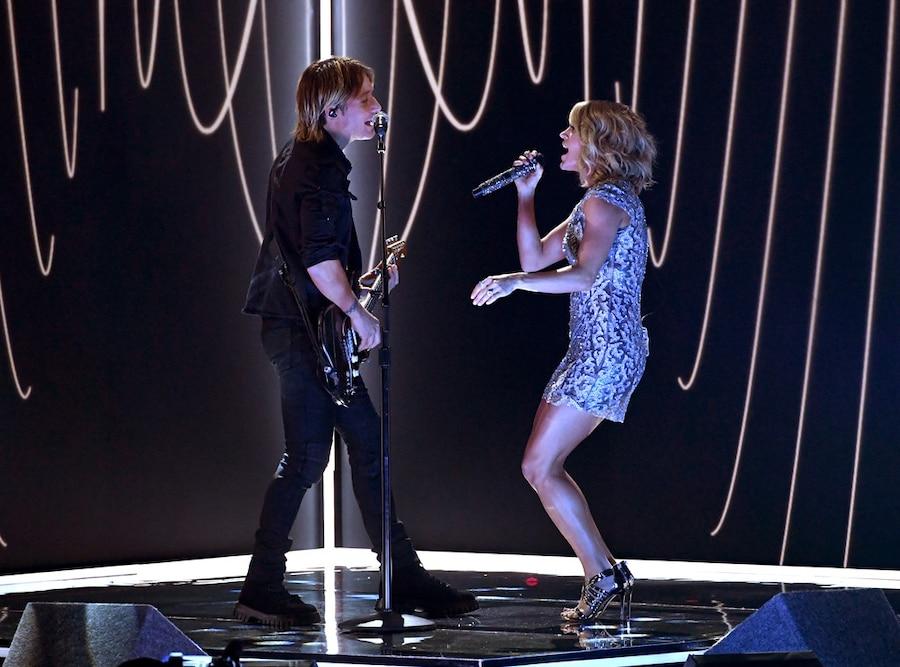 Keith Urban, Carrie Underwood, 2017 Grammys, Show, Performance