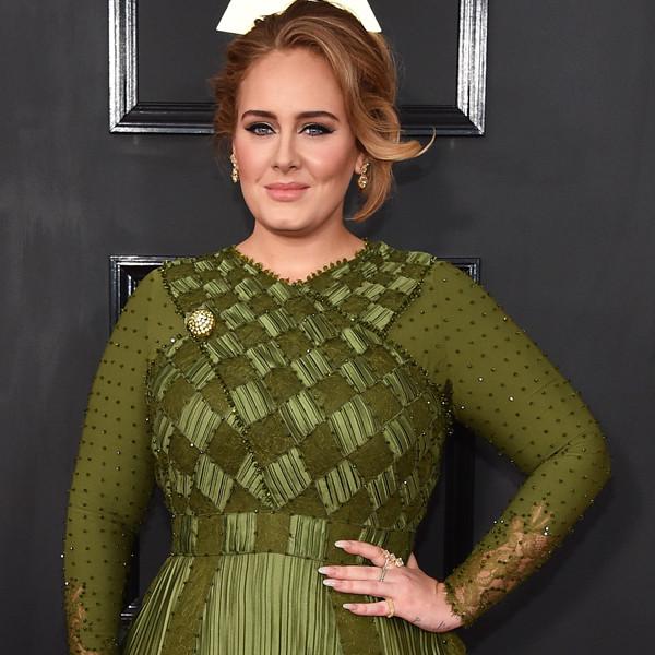 Adele, 2017 Grammys, Arrivals