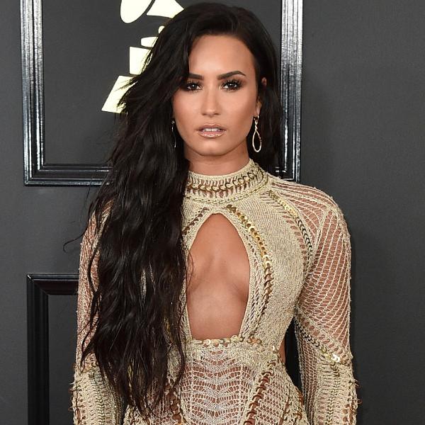 Demi Lovato, 2017 Grammys, Arrivals