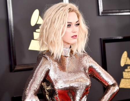 Worst dressed stars at the grammys 2017 katy perry for Elle king s wedding dress