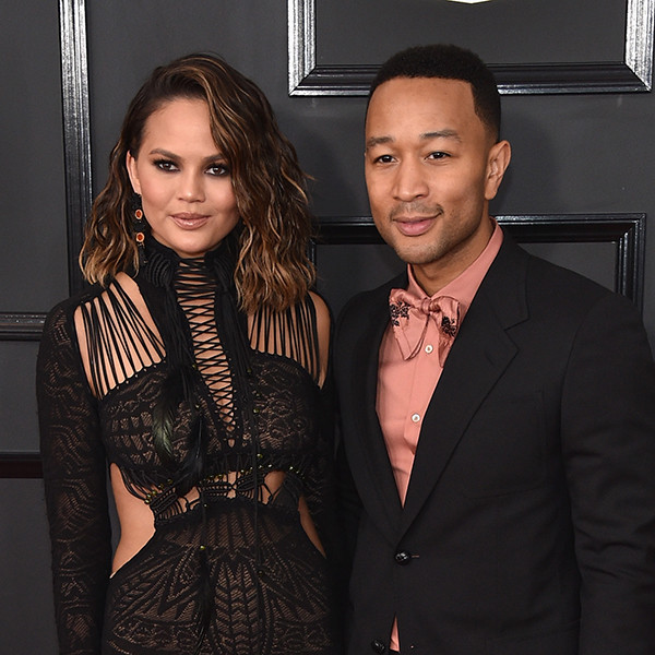 Couples at the 2017 Grammys