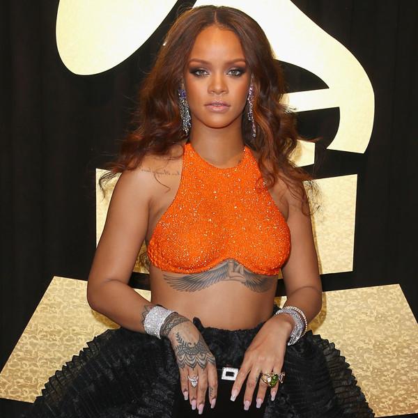 Rihanna, 2017 Grammys, Arrivals