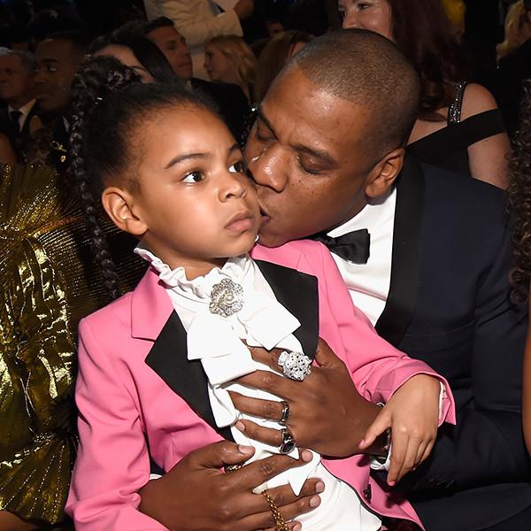 Blue Ivy Carter, Jay Z, 2017 Grammys, Candids