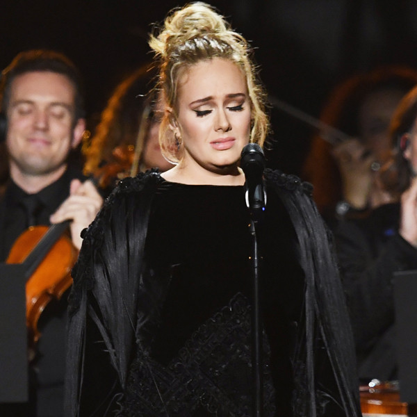 Adele, 2017 Grammys, Show, Performance, Sad