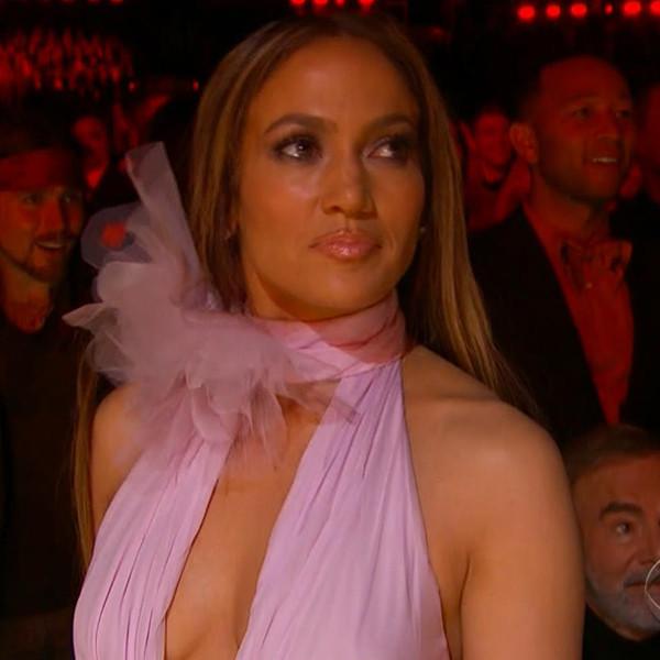 Jennifer Lopez Channels Taylor Swift's Spirit at 2017 Grammys