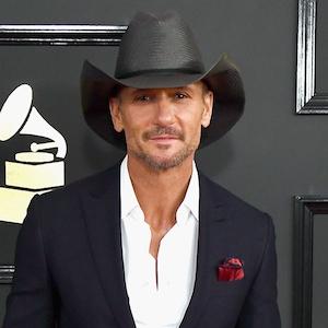Tim McGraw, 2017 Grammys