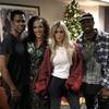 Kim Kardashian, Kanye West, Chris Rock, Megalyn Echikunwoke