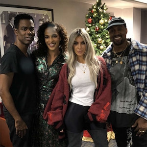 Kim Kardashian, Kanye West, Chris Rock, Megalyn Echikunwoke