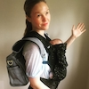 Julia Stiles, baby, Instagram