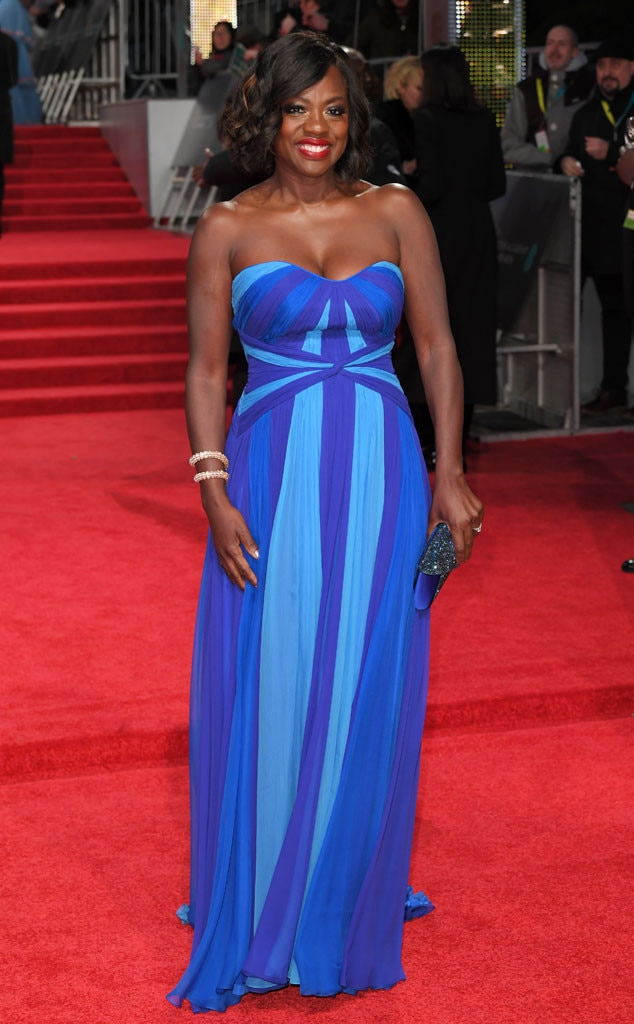 Viola Davis, 2017 BAFTA Awards