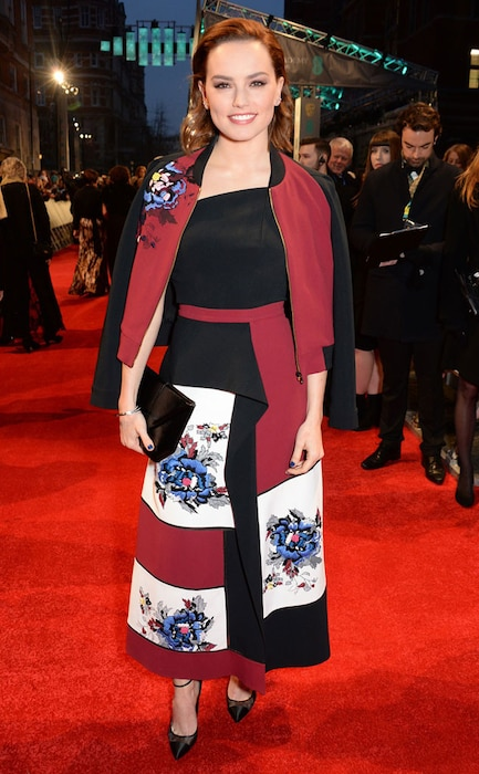 Daisy Ridley, 2017 BAFTA Awards