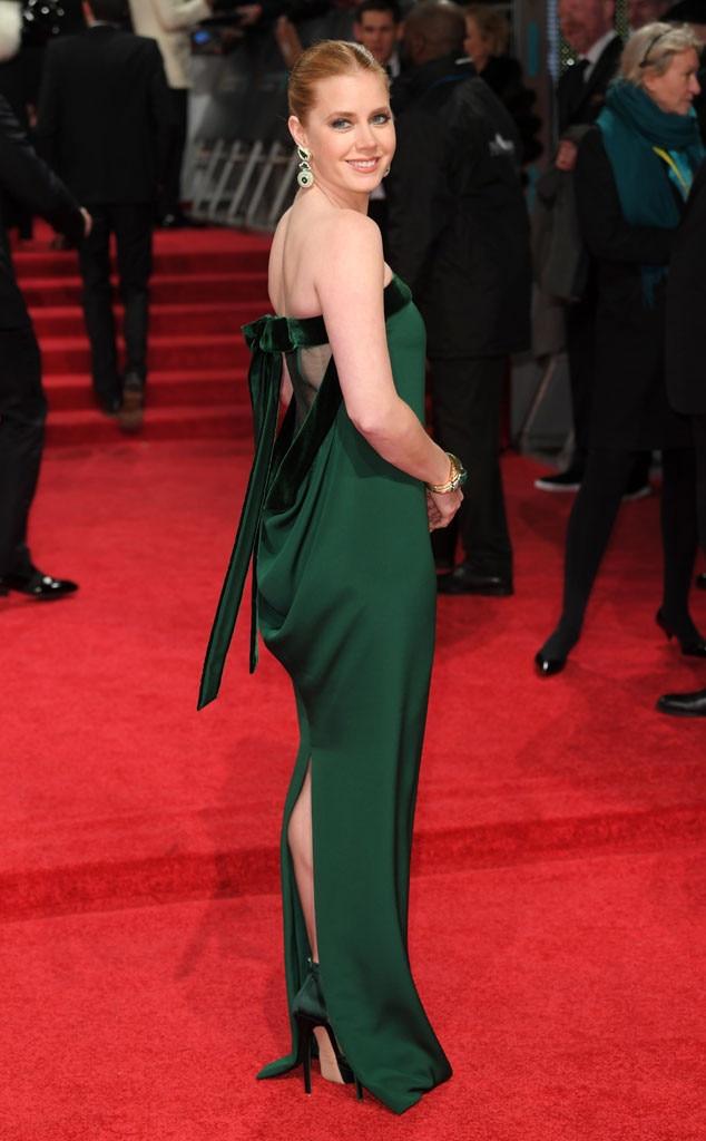 Amy Adams From 2017 Bafta Film Awards Red Carpet Arrivals