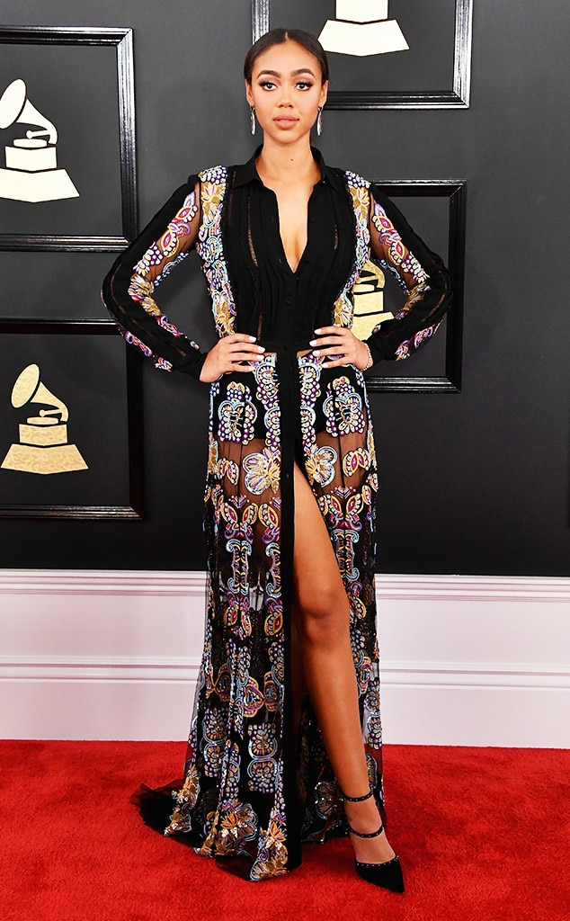 Image result for bella harris 2017 grammy awards