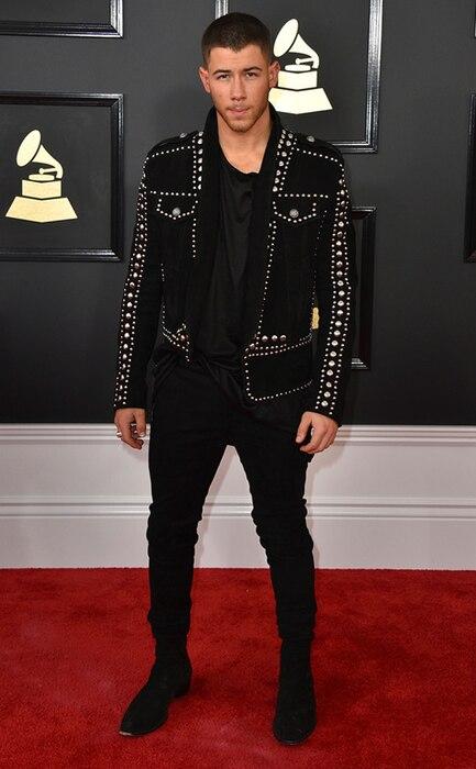 Nick Jonas, 2017 Grammys, Arrivals