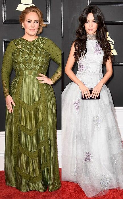 Adele, Camilla Cabello, 2017 Grammy Awards