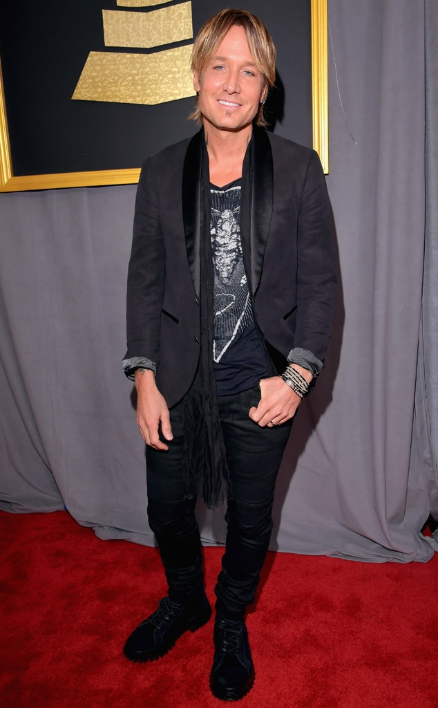 Keith Urban, 2017 Grammys