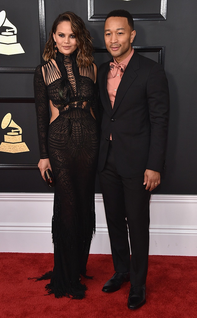 Chrissy Teigen, John Legend, 2017 Grammys, Couples