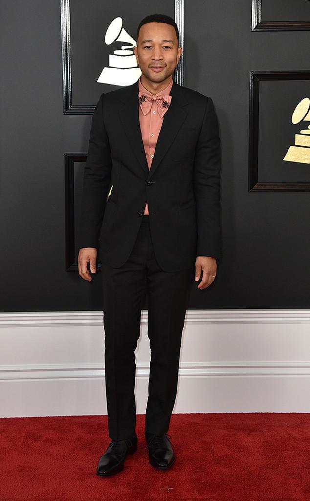 John Legend, 2017 Grammys, Arrivals