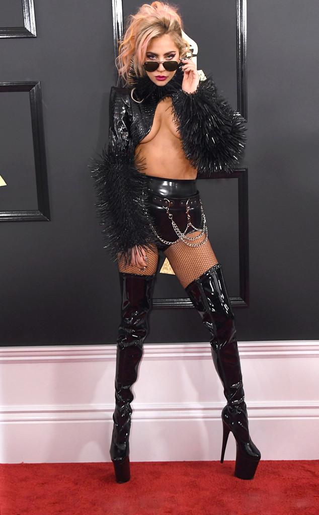 Lady Gaga, 2017 Grammys, Arrivals