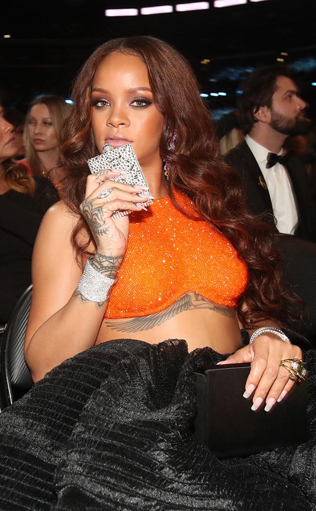 Rihanna, 2017 Grammys, Candids
